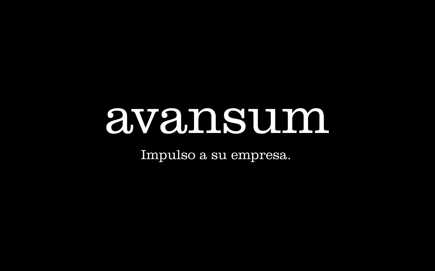 Naming de la consultora financiera Avansum